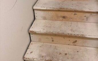q basement steps project