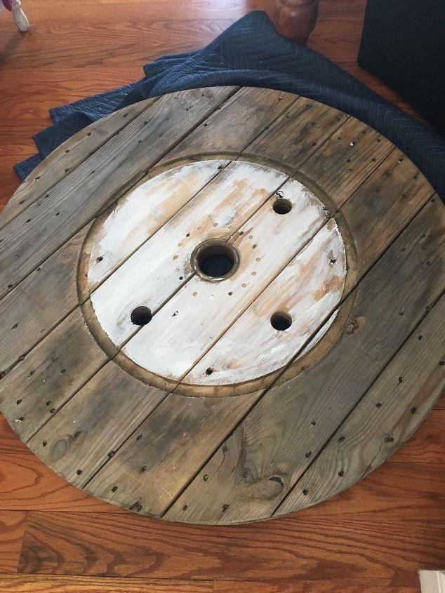 nautical spool clock
