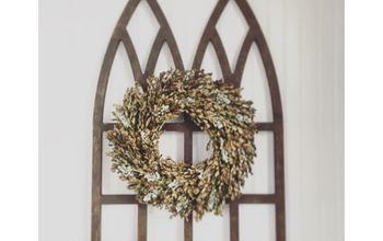 Diy Cathedral Window Frame