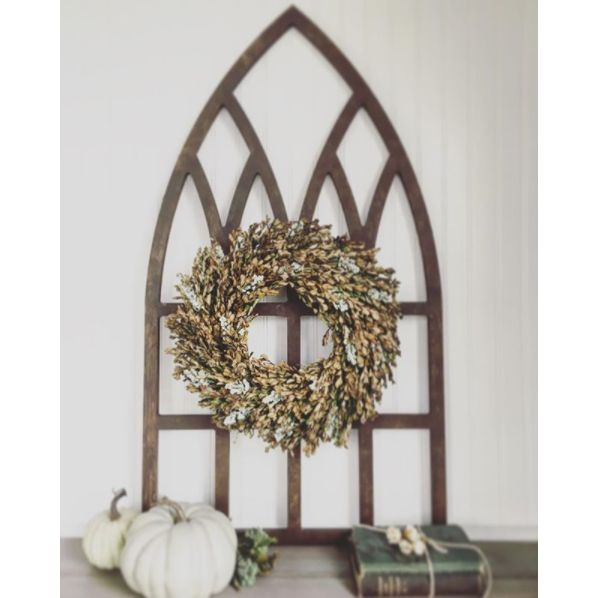 DIY Cathedral Window Frame (Cut Your Own!) | Hometalk