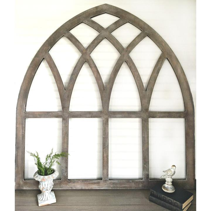 diy reversible fixer upper cathedral window frame