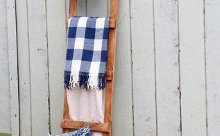 diy wooden blanket ladder only 4 30 minutes beginner level