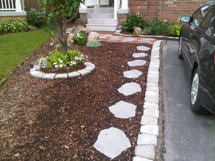 q i m tired of my mulch yard and want to go back to grass