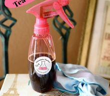 homemade window cleaner from tea