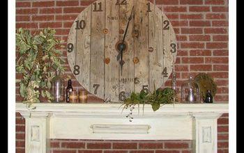 giant spool clock