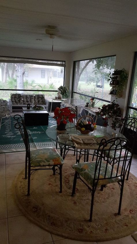 q what are some ways i can close up my lani screened porch