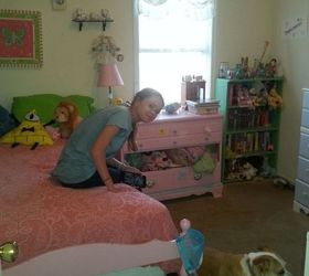 A Pastel Shabby Chic Inspired Girl S Bedroom Makeover On A Budget