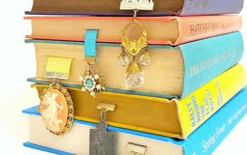 Repurposed Broken Jewelry Bookmarks