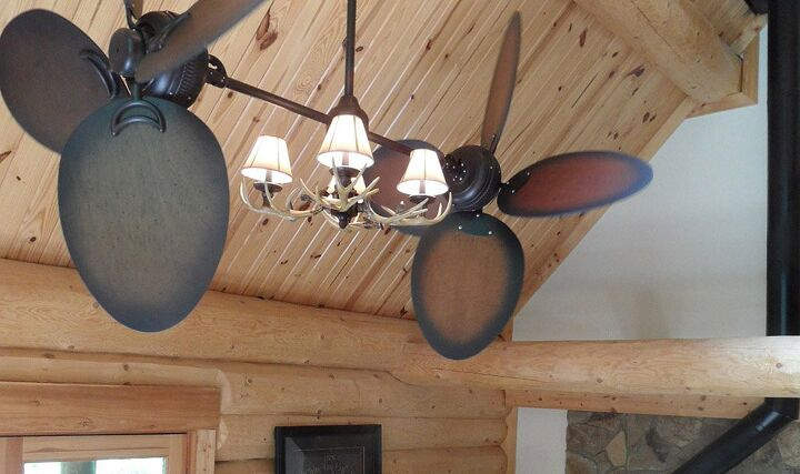 ways to choose the ideal farmhouse rustic ceiling fan