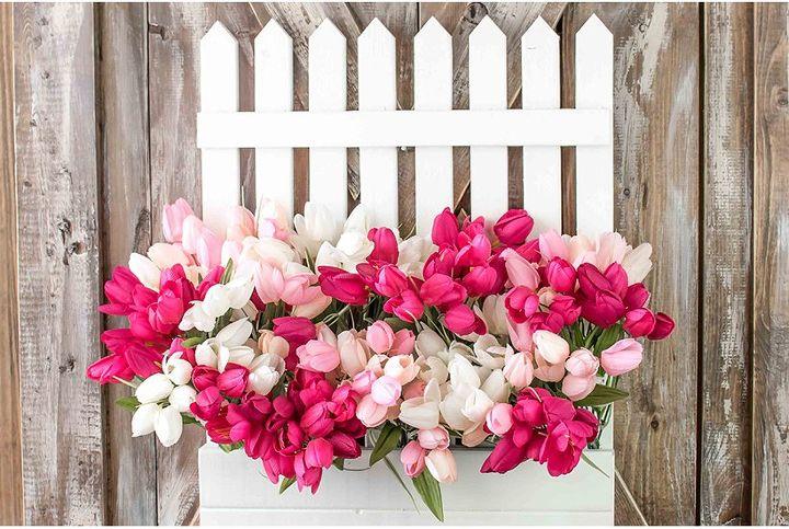 a sweet spring wreath