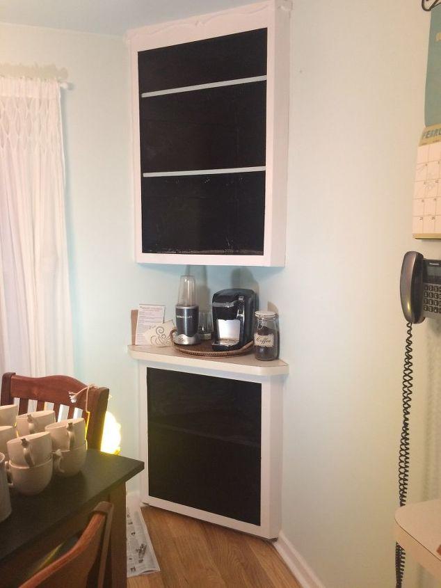 kitchen corner cubby update
