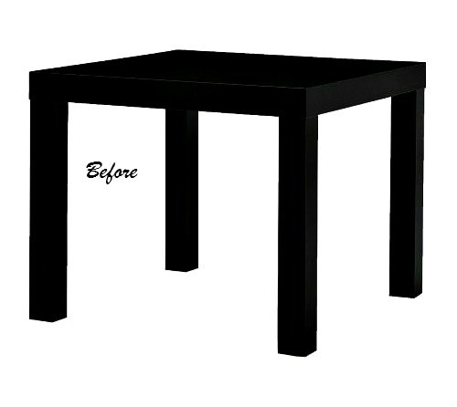 Awe Inspiring How To Decoupage An Ikea Lack Table Hometalk Gmtry Best Dining Table And Chair Ideas Images Gmtryco