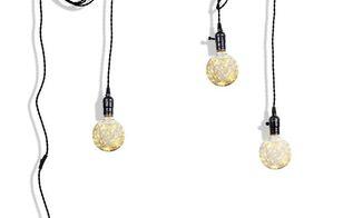 diy a minimalist 3 light pendant light cord set
