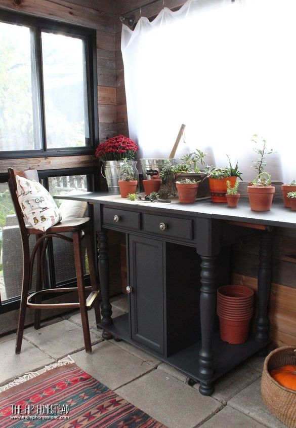 tour my boho style garden shed