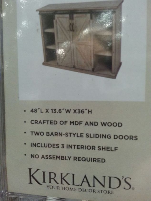 q where can i purchase the mini barndoor hardware kits for cabinets