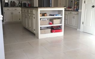 paint grout and kitchen tile floor