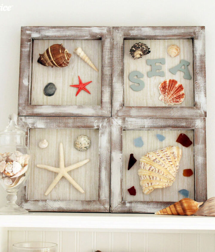 s the best nautical home decor ideas you can try, DIY Nautical Shadow Box