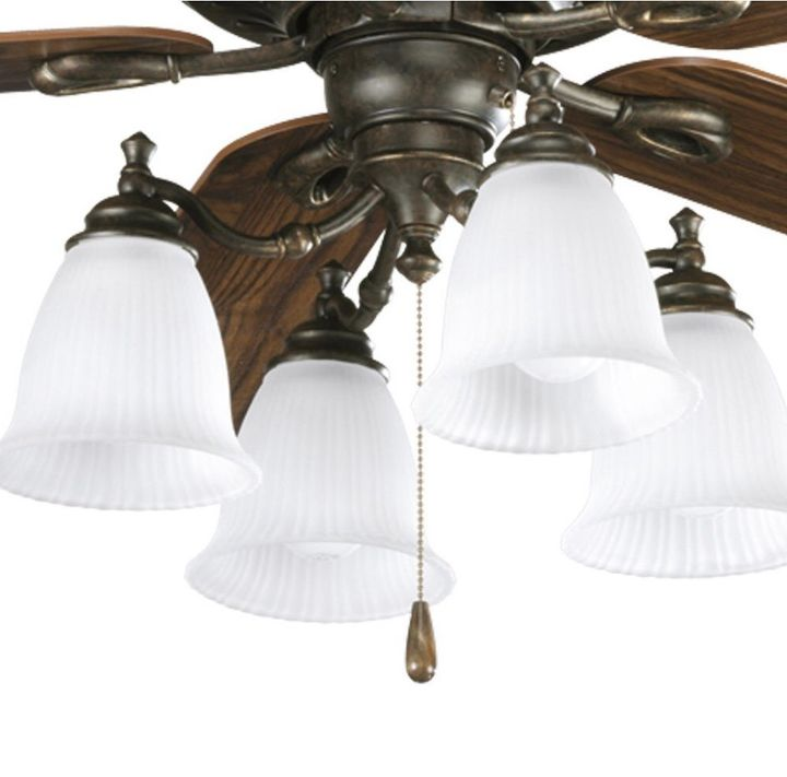 q ceiling fan shades 4 are old glass type want to update look