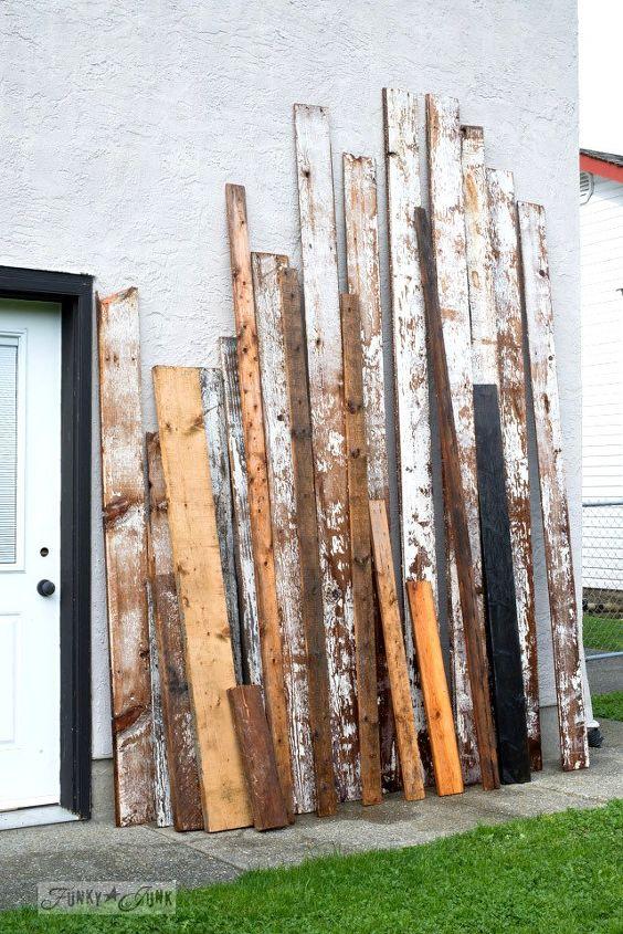 how to fake a faux barn door headboard