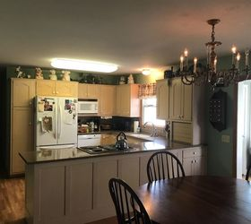 Q Ideas For Replacing A Kitchen Fluorescent Light Fixture