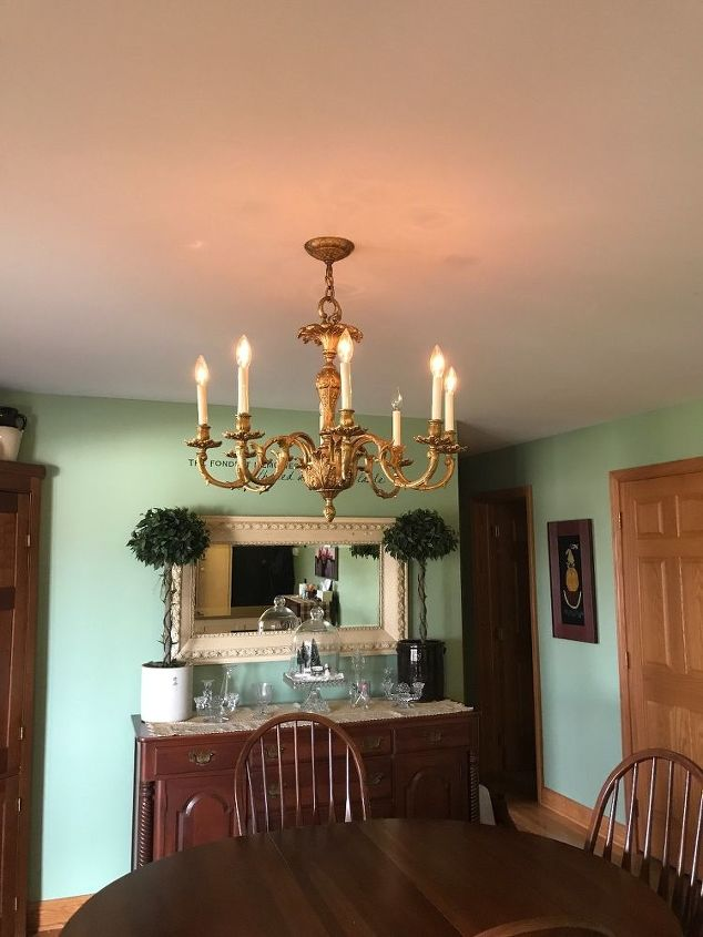 Ideas for replacing a kitchen fluorescent light fixture.  Hometalk