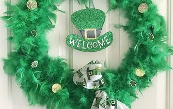 Whimsical St. Patrick's Day Wreath