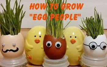 Egghead Easter Craft
