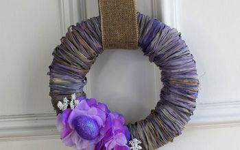Beautiful Easter Spring Wreath for Only $3