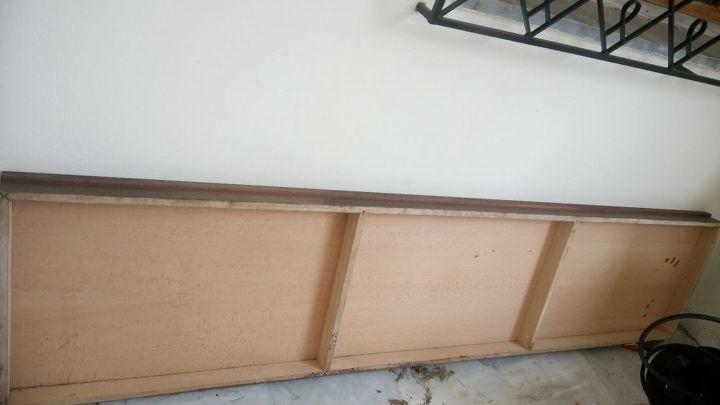 q piece of wood repurposed