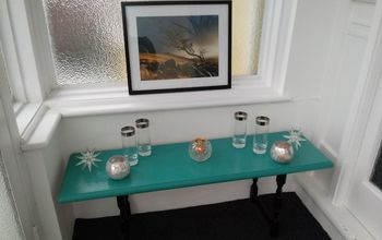 simple to make entrance way table