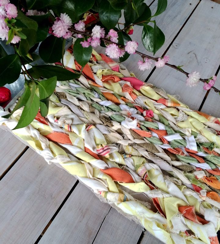 s don t throw away your fabric scraps before you see these 13 ideas, Braid them into a table runner