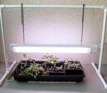 how to make a pvc garden grow light