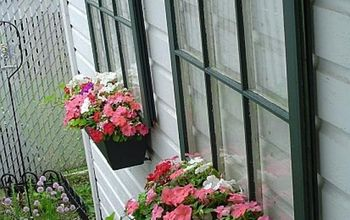 decorating with old windows
