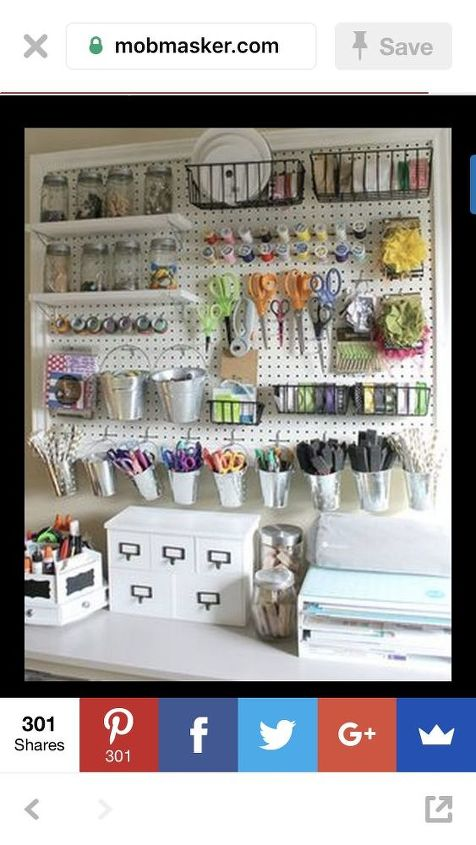 q how to i attach a large pegboard to a wall and make sure it stays up