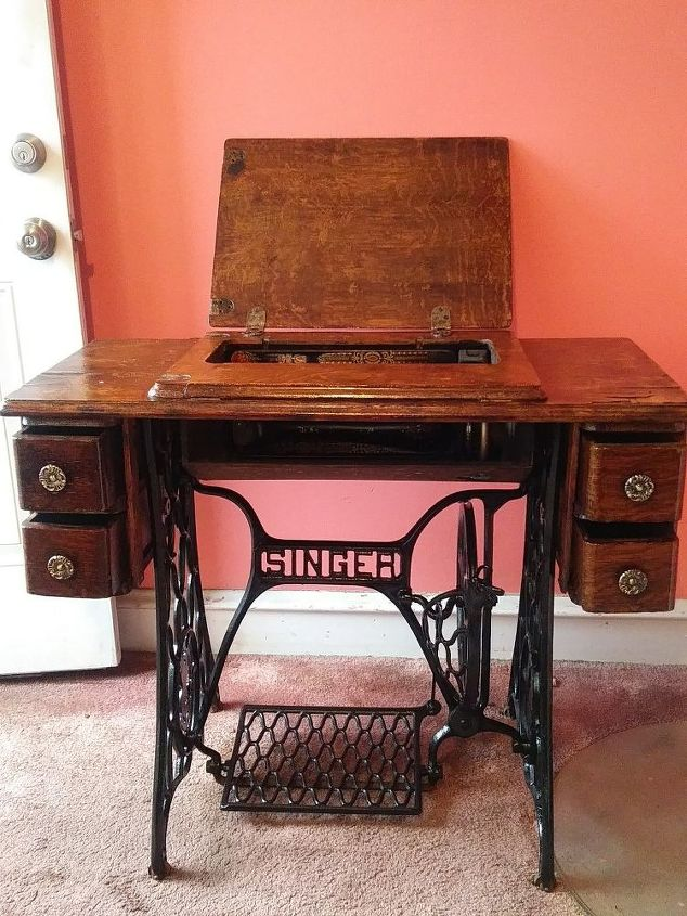 Refurbished Vintage Singer Sewing Machine Hometalk