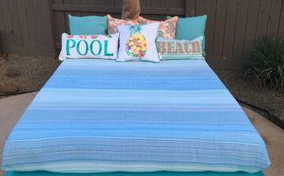 outdoor beach bed