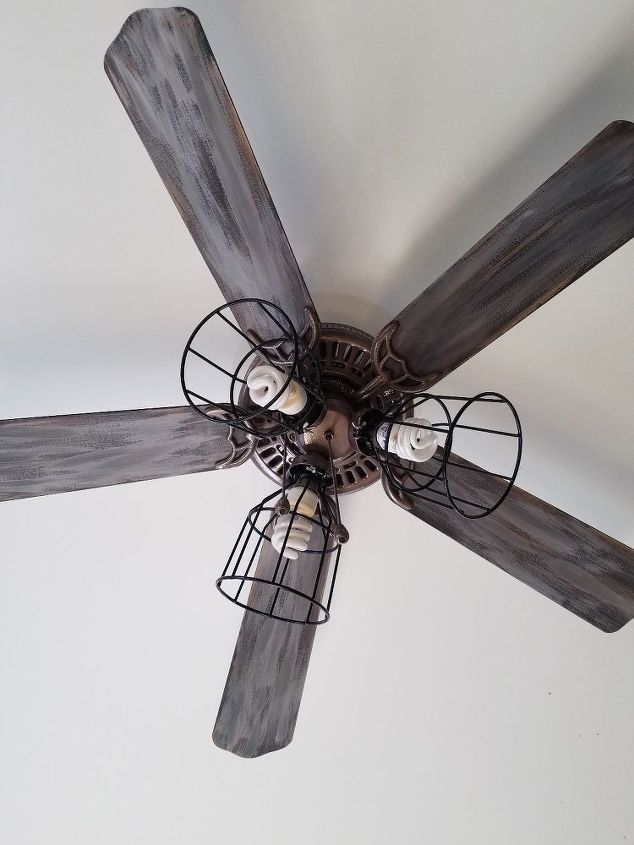 Painted ceiling fan hometalk painted ceiling fan aloadofball Gallery
