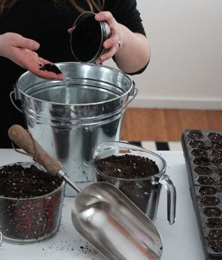 the best diy seed starting mix