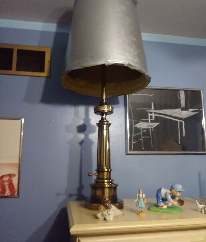 q what can i do to this lampshade