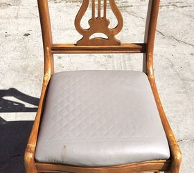 Lyre Back Chair Find Gets A Colorful Makeover