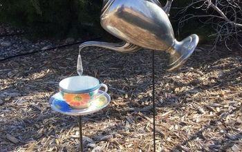 Pouring Tea Pot & Tea Cup