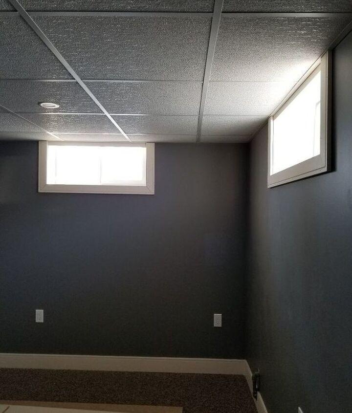 q basement window treatments