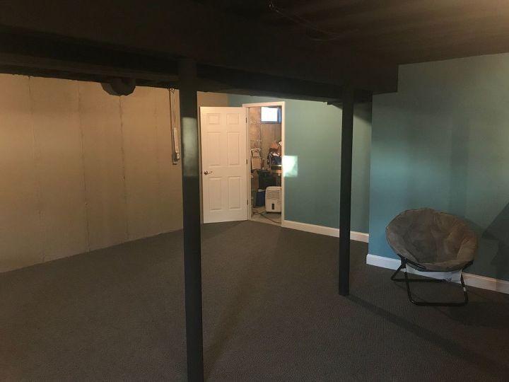 finished basement on a budget