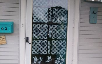 screen door make over