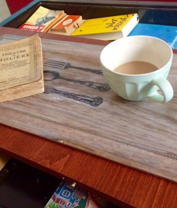 farmhouse serving tray