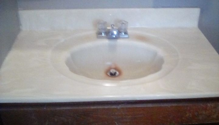 Bathroom Sink That Is Faux Marble