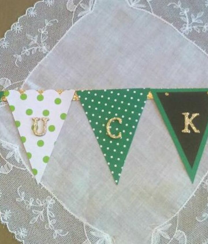 st patrick s day lucky mini banner