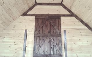 simple barn door build