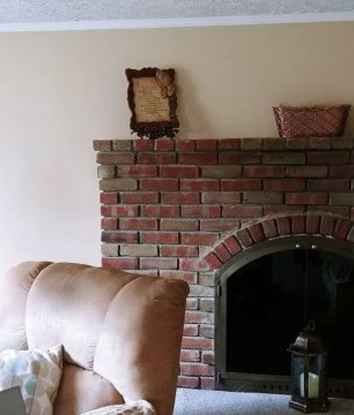 q what to do with a fireplace in the corner of a room