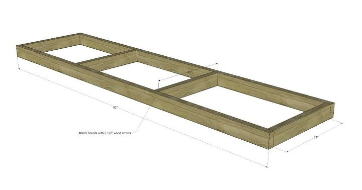 two hour diy workbench free plans